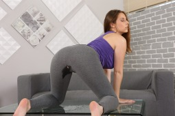 Piss Drenched Gym Gear #13