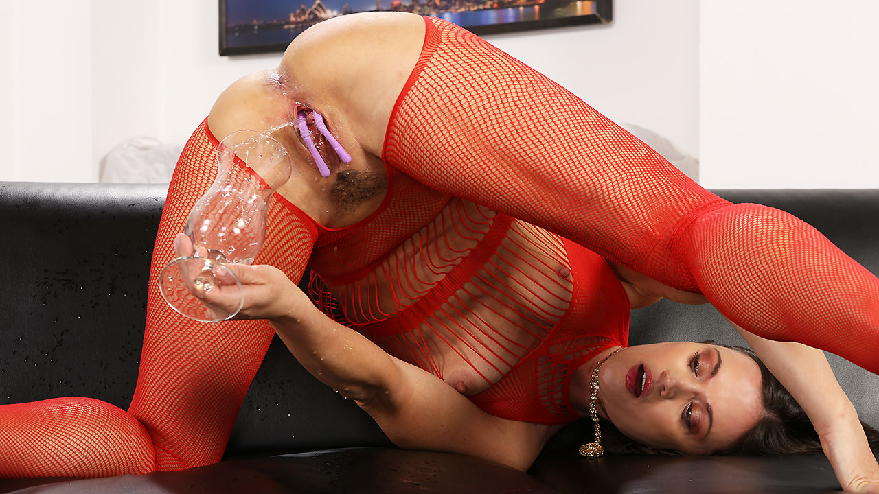 Pissing In Fishnet